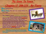 pa goes to town chapter 17 208 225 by tiarra