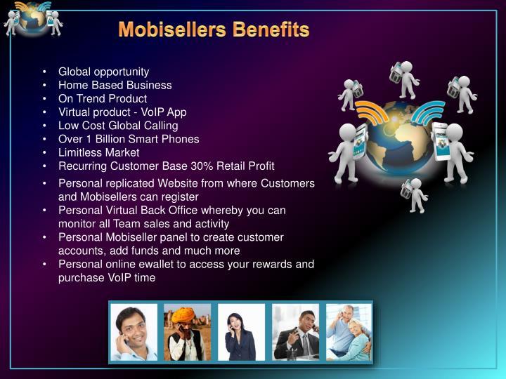 Mobisellers Benefits