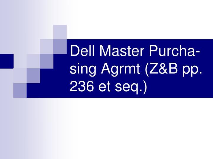Dell Master