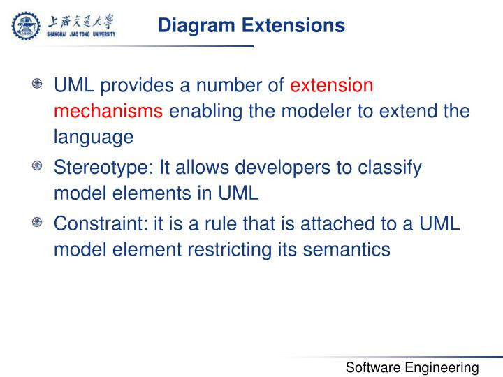 Diagram Extensions