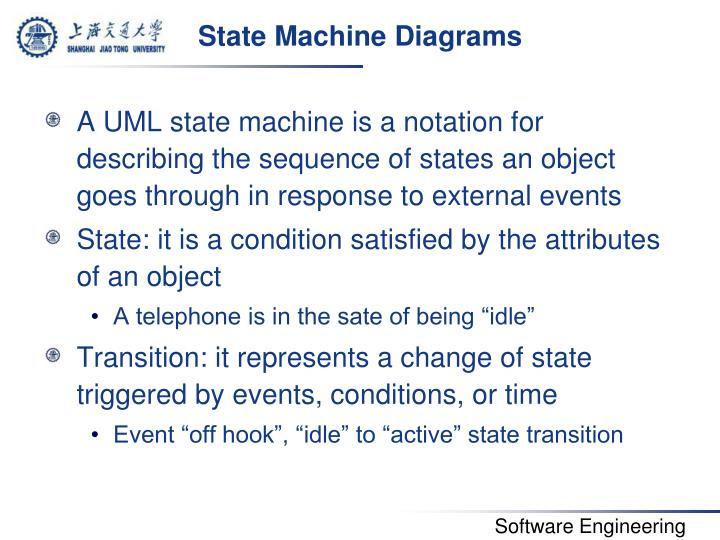 State Machine Diagrams