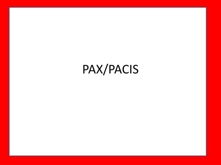 PAX/PACIS
