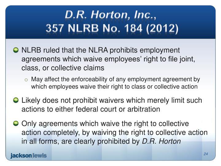 D.R. Horton, Inc.