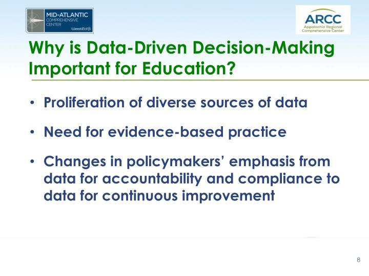 Why is Data-Driven Decision-Making Important for Education?