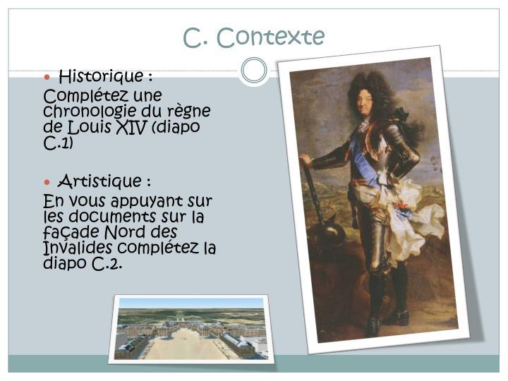 C. Contexte