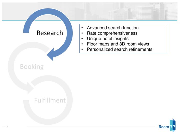 Advanced search function