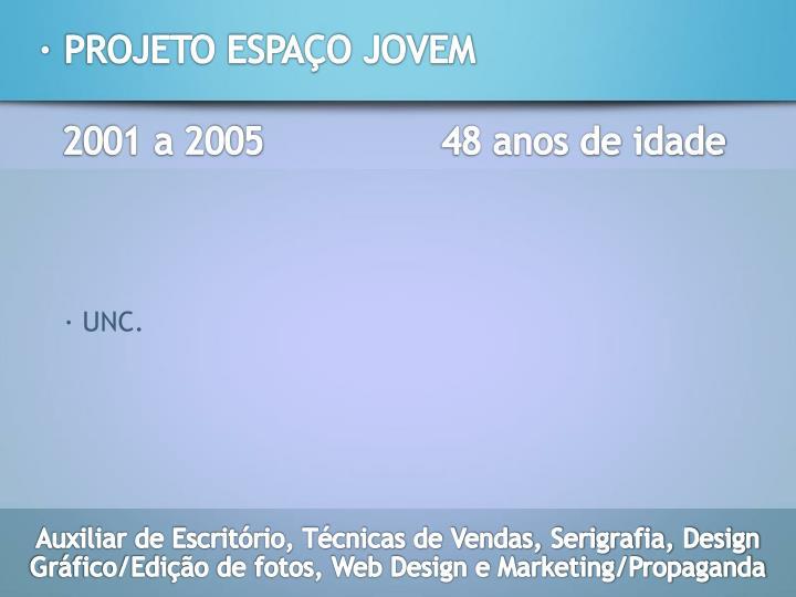 2001 a 2005