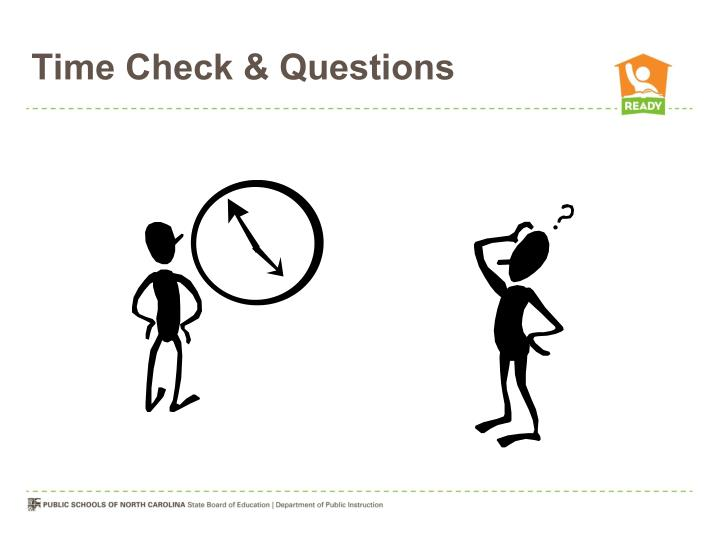 Time Check & Questions