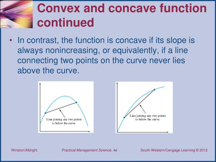 Convex and concave function continued