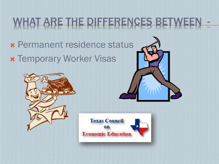 Permanent residence status