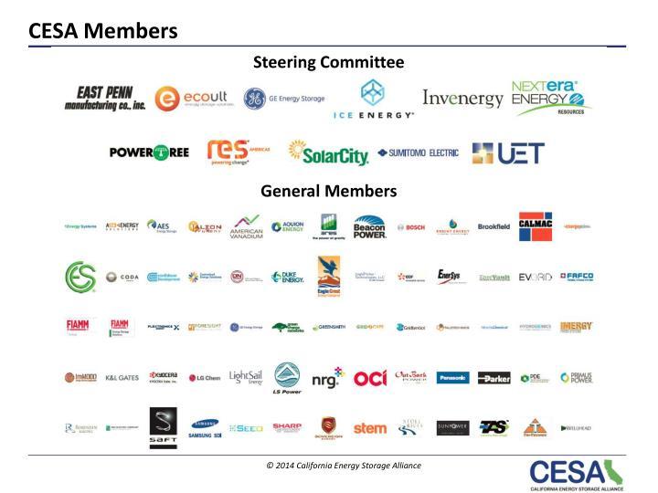 CESA Members
