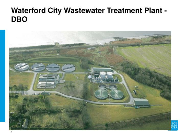 Waterford City Wastewater Treatment Plant - DBO