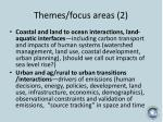 themes focus areas 2