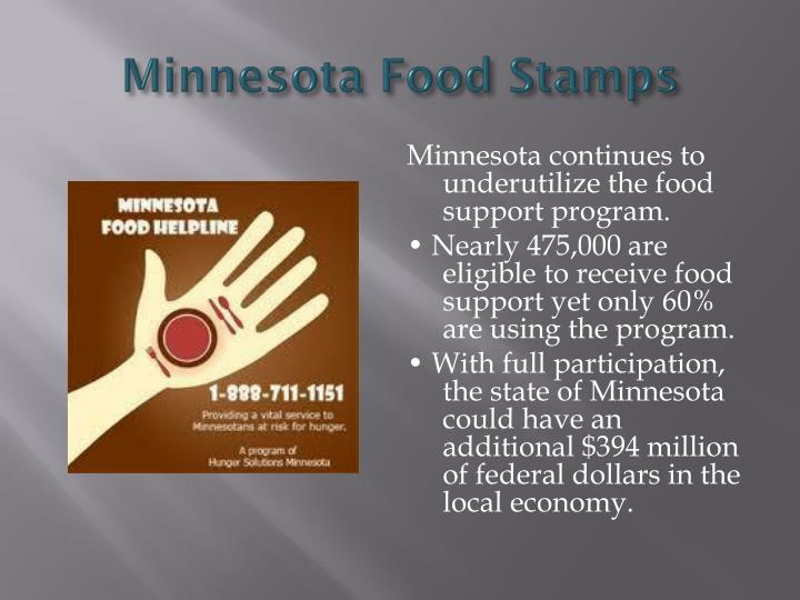 Minnesota Food Stamps