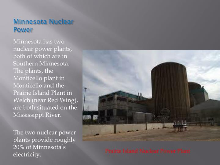 Minnesota Nuclear Power