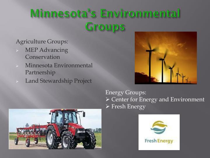 Minnesota's Environmental Groups