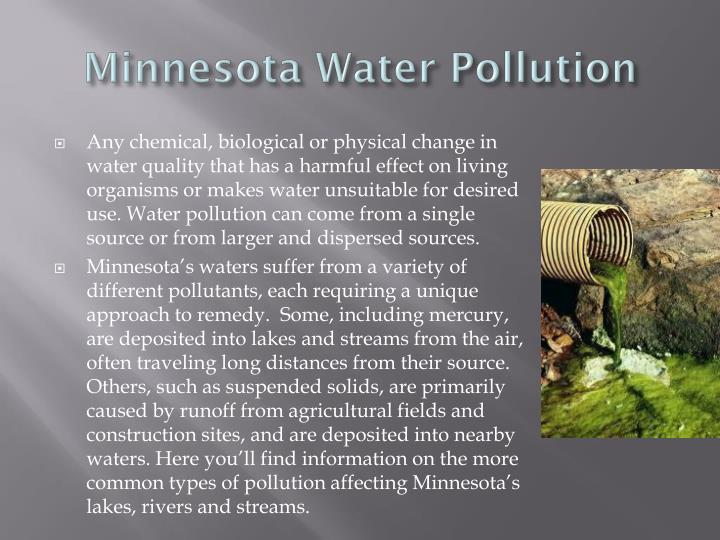 Minnesota Water Pollution