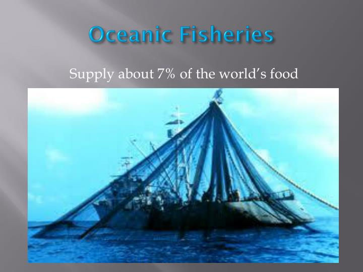Oceanic Fisheries