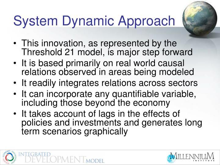 System Dynamic Approach