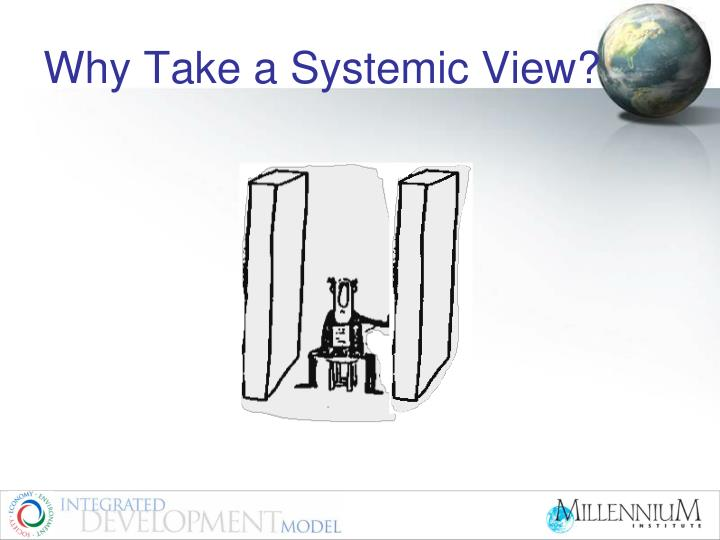 Why Take a Systemic View?