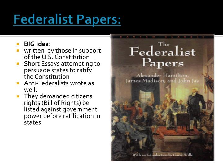 Federalist Papers: