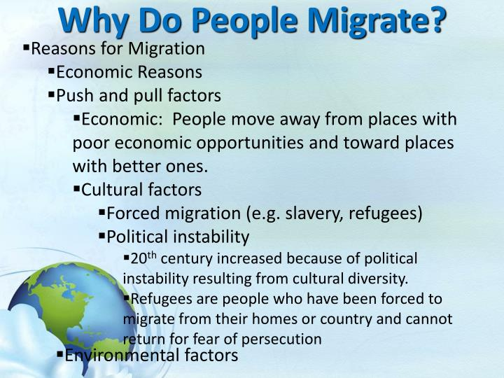 push and pull factors puerto rico migration Caribbean migration overview in the year 2000, more than 54 million us residents traced their national origins to puerto rico, cuba.