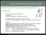 step 3 environmental profile and root causes3