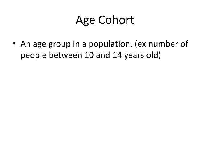 Age Cohort