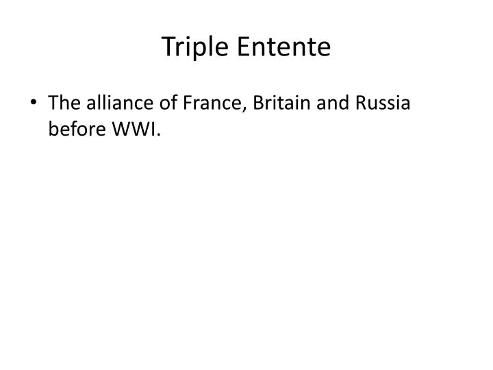 Triple Entente