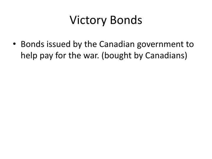 Victory Bonds