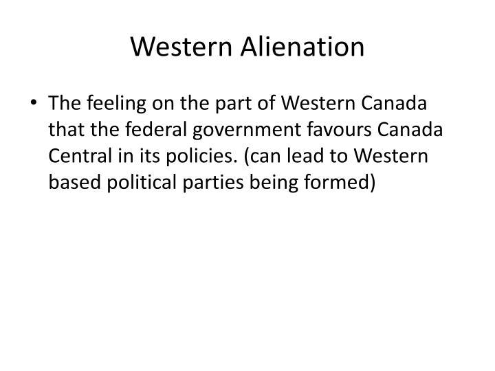 Western Alienation