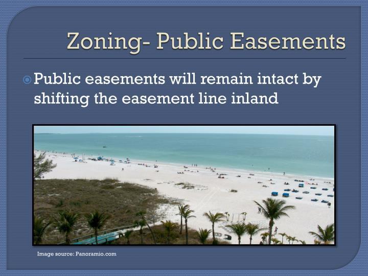 Zoning- Public Easements