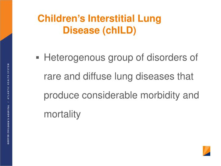 Children's Interstitial Lung Disease (