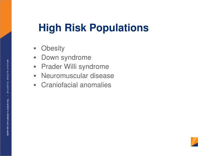 High Risk Populations