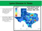lyme disease in texas