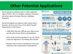 other potential applications