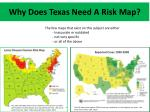 why does texas need a risk map