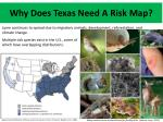 why does texas need a risk map1