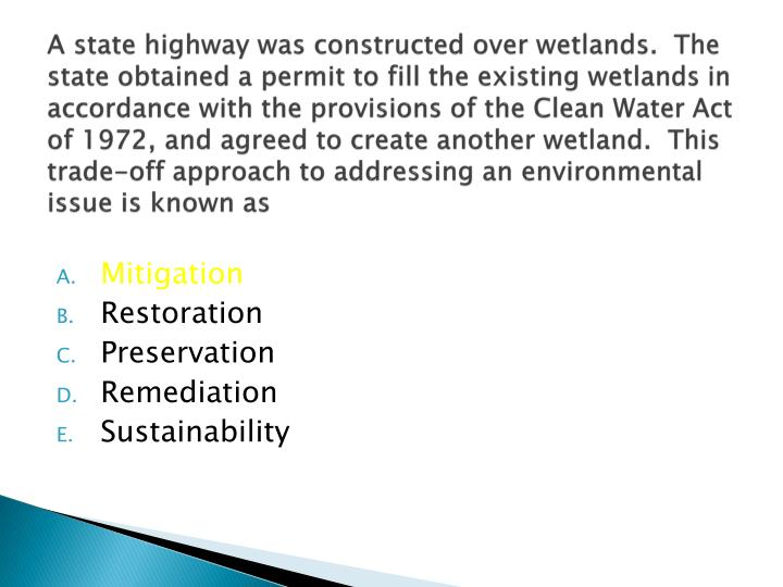 the issue of wetlands preservation in the united states To issue permits for wetland destruction to land developers  2 white house  office on envtl policy, protecting america's wetlands: a fair, flexible, and  effective.