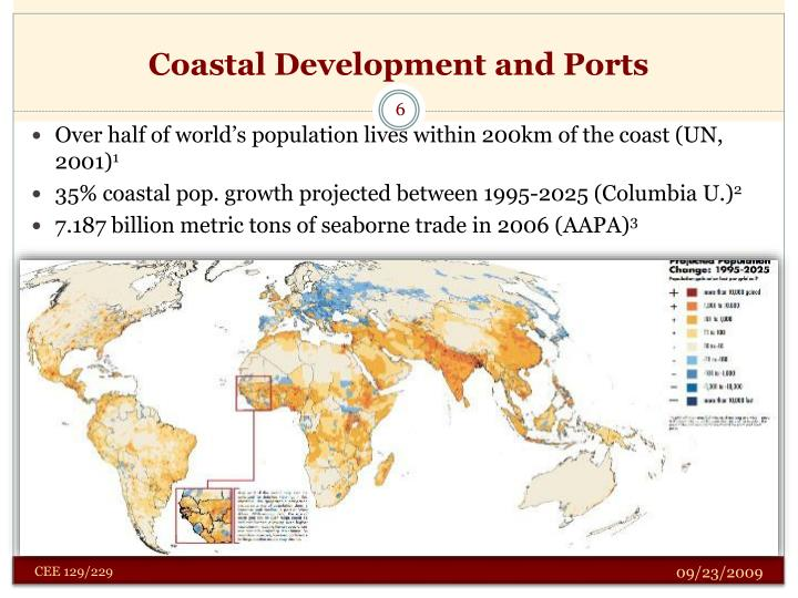 Coastal Development and Ports