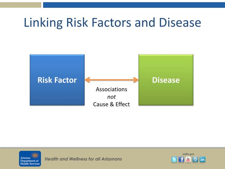 Linking Risk Factors and Disease
