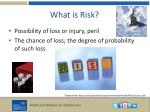 what is risk2