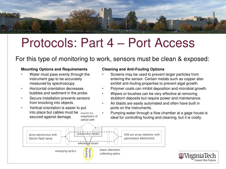 Protocols: Part 4 – Port Access