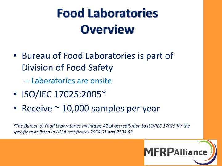 Food Laboratories