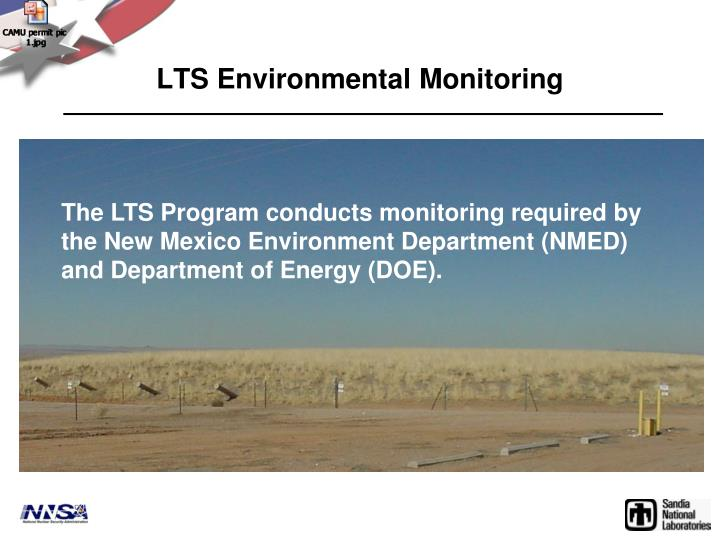 LTS Environmental Monitoring