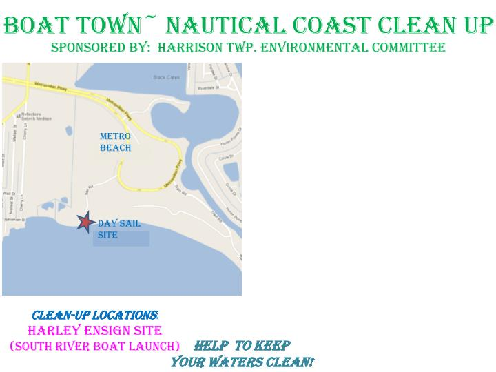 Boat town~ nautical coast clean up