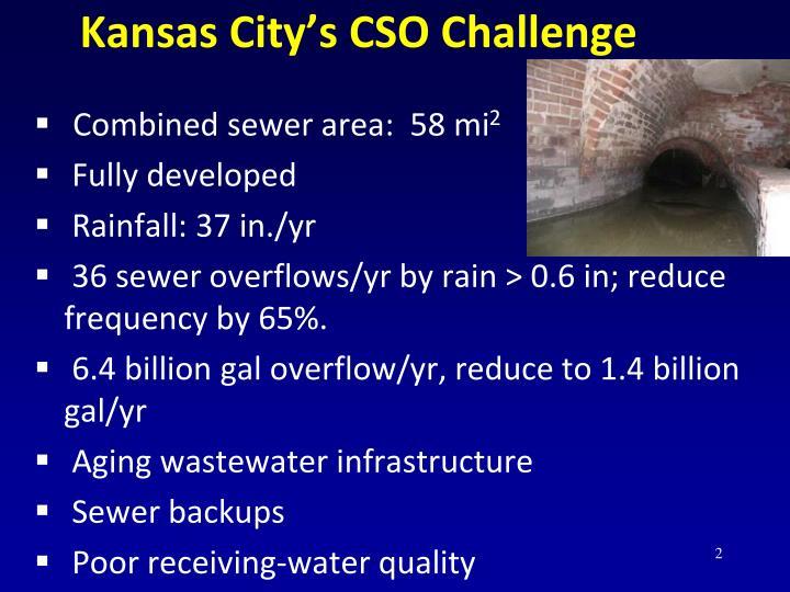 Kansas City's CSO Challenge