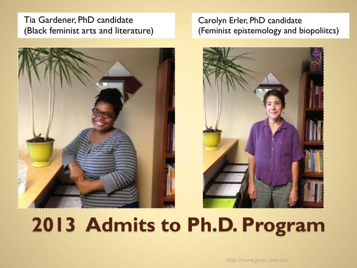 Tia Gardener, PhD candidate