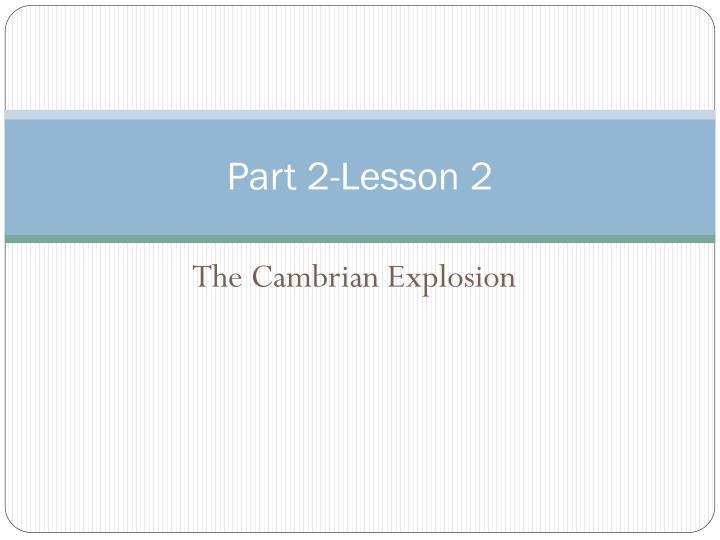 Part 2-Lesson 2