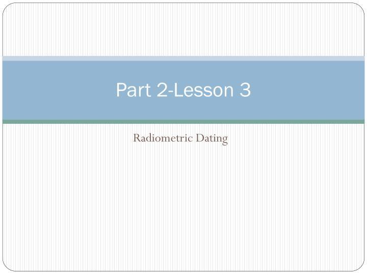 Part 2-Lesson 3